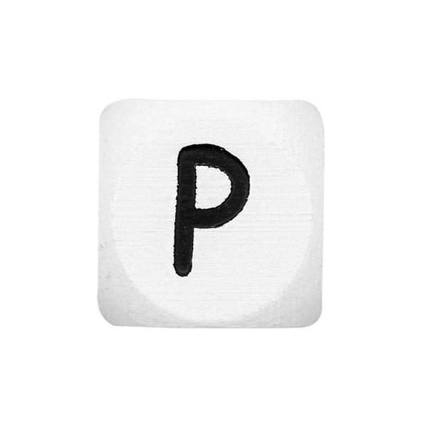 Holzbuchstaben P – weiß | Rico Design