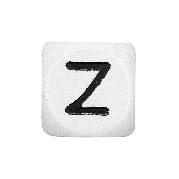 Holzbuchstaben Z – weiß | Rico Design