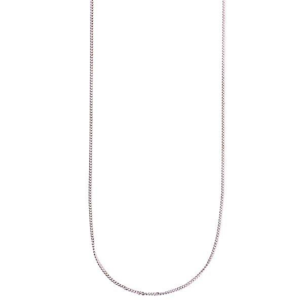 Chaîne à maillons [ 65 cm] | Rico Design – argent