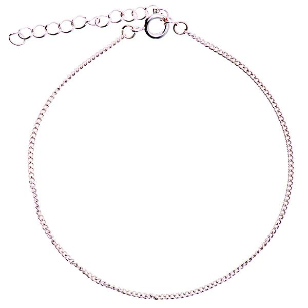 Bracelet [ 17 cm] | Rico Design – argent