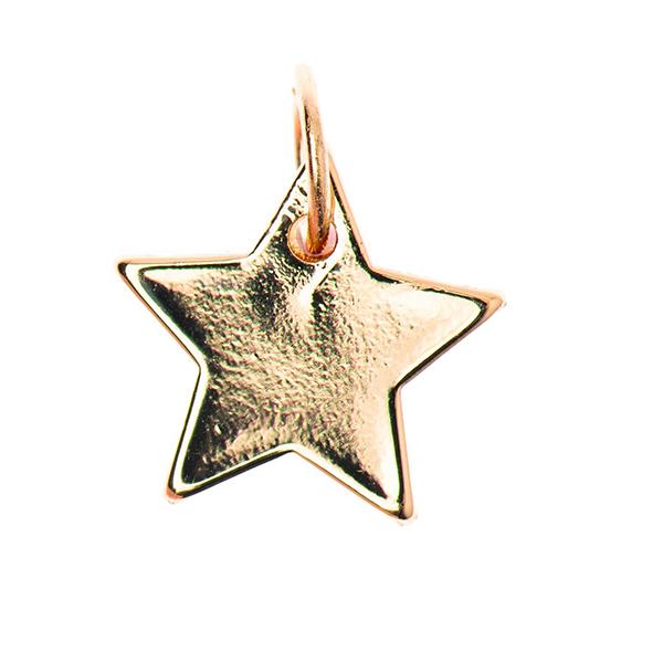 Pendentif Star [Ø10 mm] | Rico Design – or