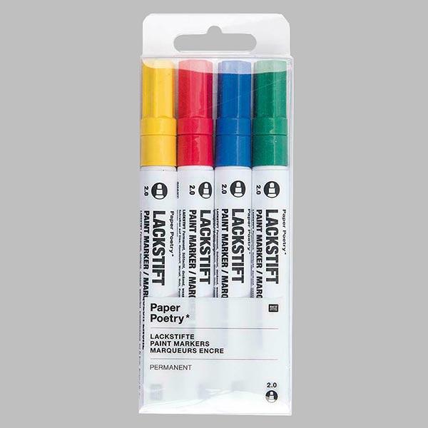 Set de marqueurs de peinture [2,0 mm] | Rico Design