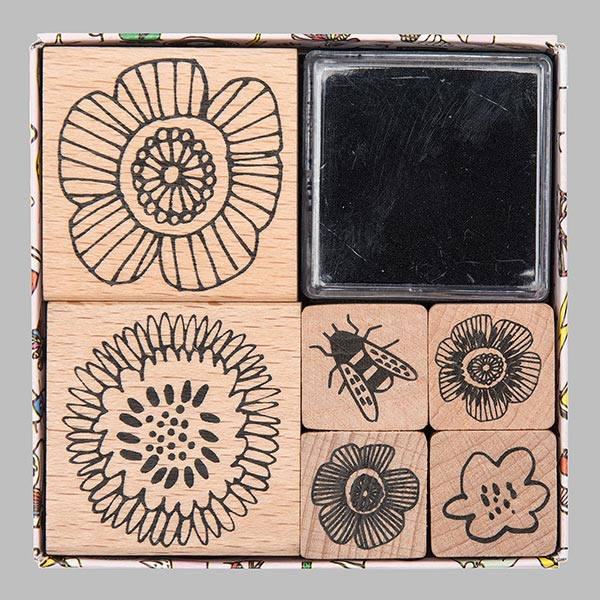 Set de tampons Magical Summer Fleurs | Rico Design