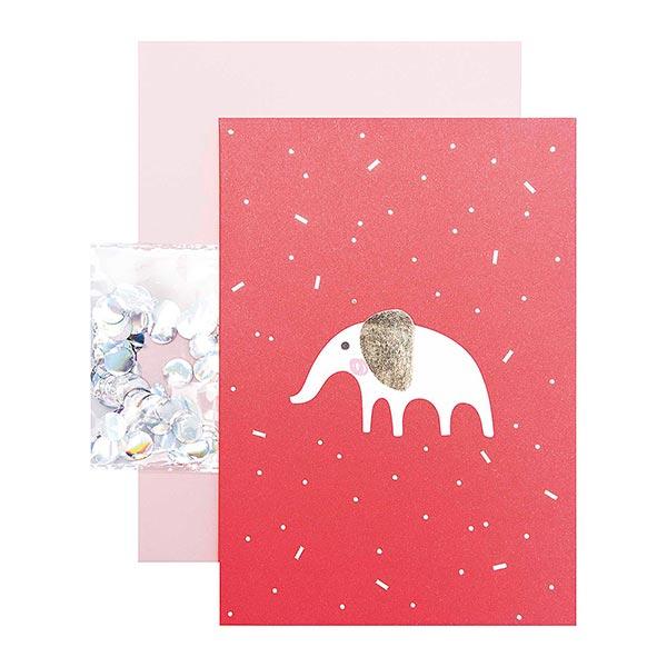 Carte DIY HELLO BABY Éléphant | RICO DESIGN