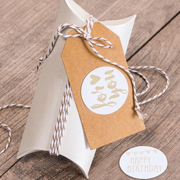 Boite cadeaux grand [ 6 Pièces ] – crème