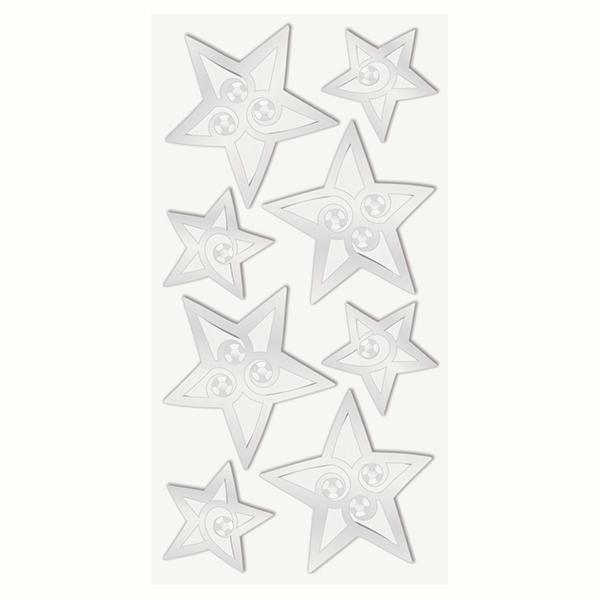 Sticker Étoiles Set – argent