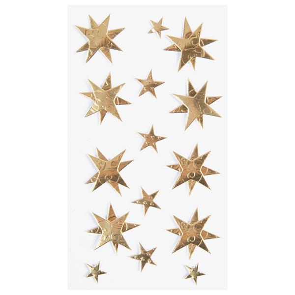 Sticker Mélange d'étoiles – or