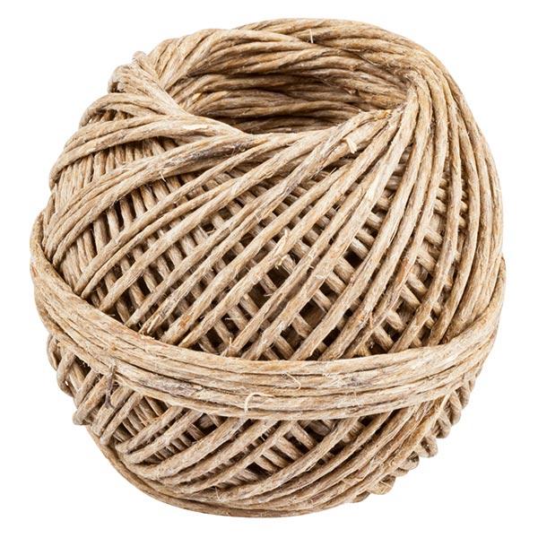 Cordon en fibre naturelle [ 20 m ] – nature