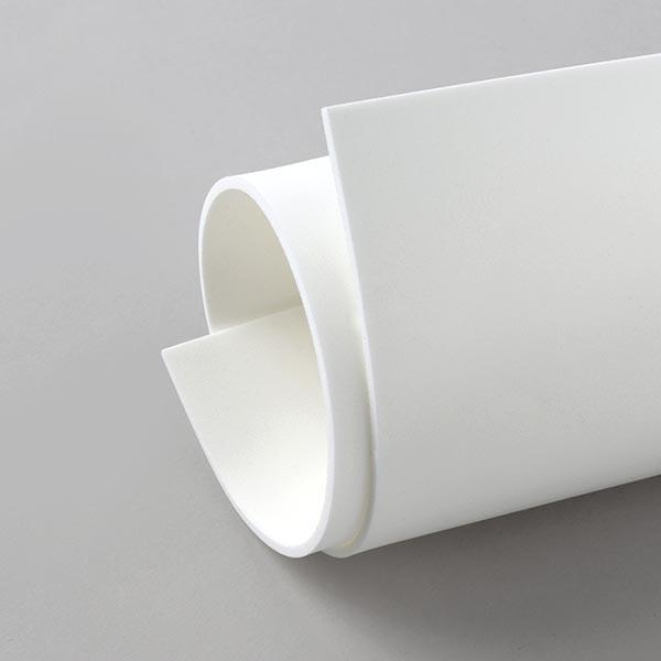 """Caoutchouc mousse """"Crea Soft"""" [20 x 30 cm] - blanc"""
