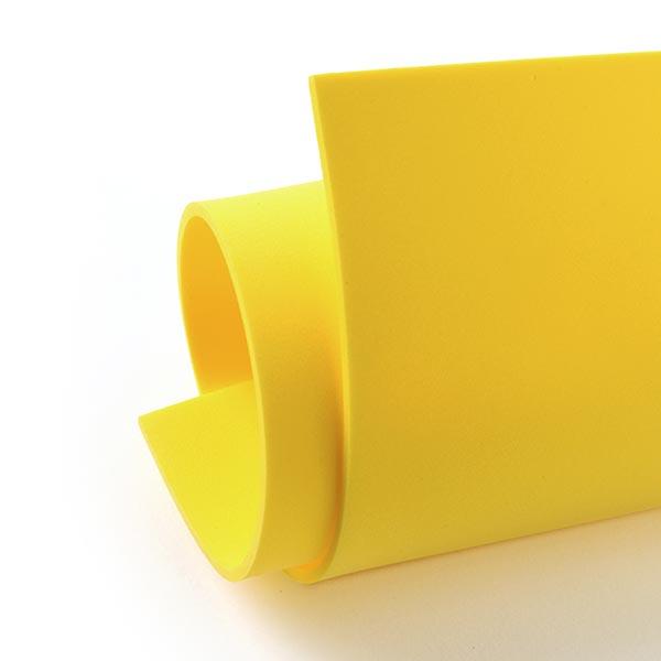 """Caoutchouc mousse """"Crea Soft"""" [20 x 30 cm] - jaune"""
