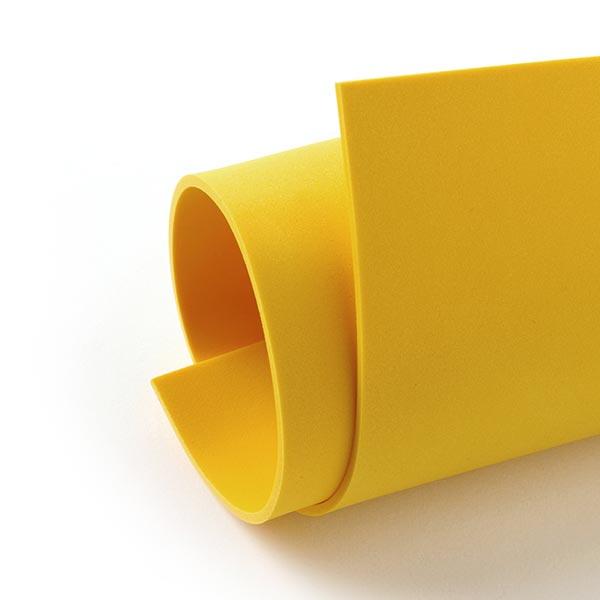 """Caoutchouc mousse """"Crea Soft"""" [20 x 30 cm] - jaune maïs"""