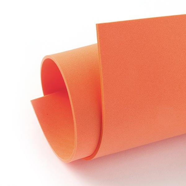 """Caoutchouc mousse """"Crea Soft"""" [20 x 30 cm] - orange"""