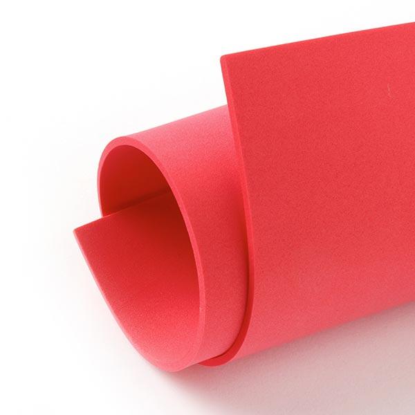 """Caoutchouc mousse """"Crea Soft"""" [20 x 30 cm] - rouge"""