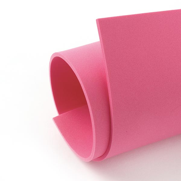 """Caoutchouc mousse """"Crea Soft"""" [20 x 30 cm] - rose vif"""
