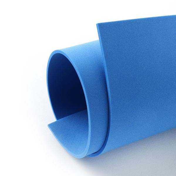"""Caoutchouc mousse """"Crea Soft"""" [20 x 30 cm] - bleu"""
