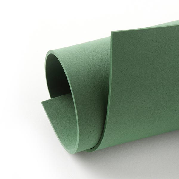 """Caoutchouc mousse """"Crea Soft"""" [20 x 30 cm] - vert sapin"""