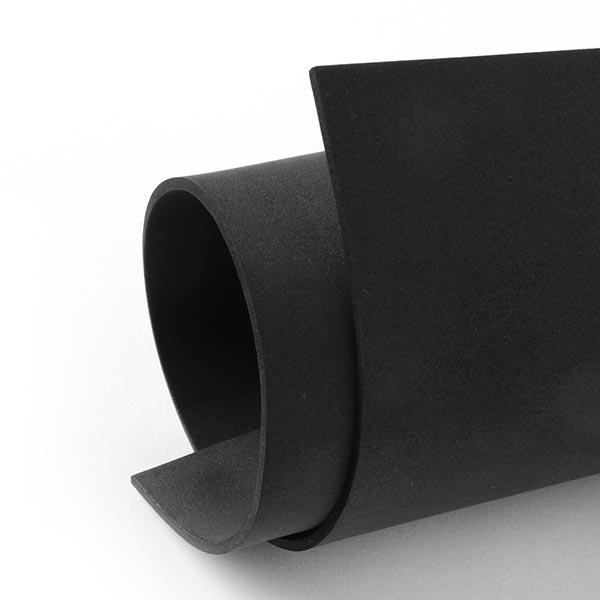 """Caoutchouc mousse """"Crea Soft"""" [20 x 30 cm] - noir"""