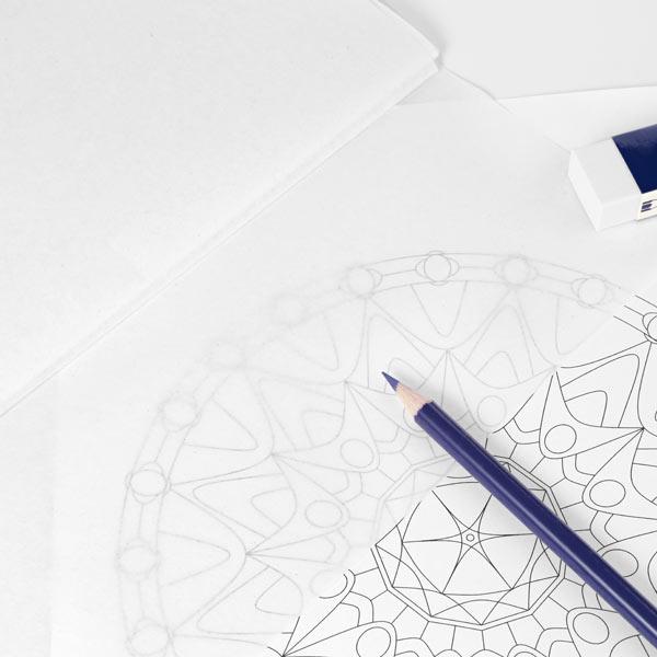 Seidenpapier, 50 cm x 70 cm