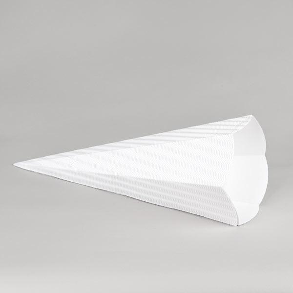 Pochette surprise carton ondulé 3D (69 cm)