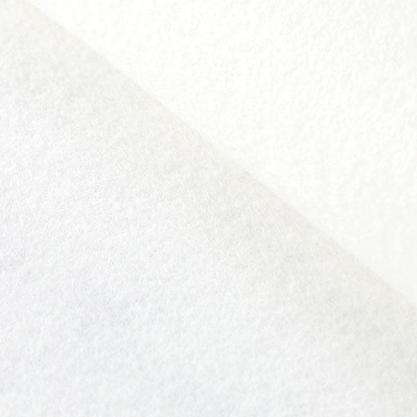 Filzplatte 1mm, 20 x 30 cm – weiss
