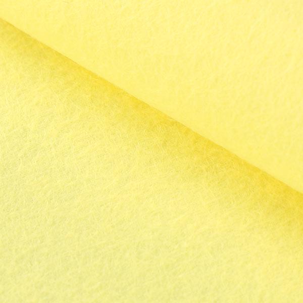Filzplatte 1mm, 20 x 30 cm – hellgelb