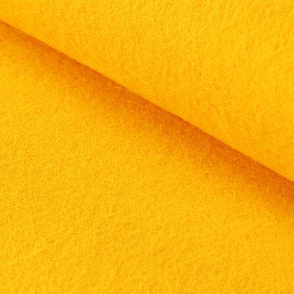 Filzplatte 1mm, 20 x 30 cm – sonnengelb