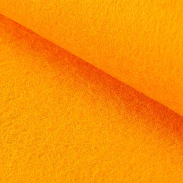 Filzplatte 1mm, 20 x 30 cm – orange