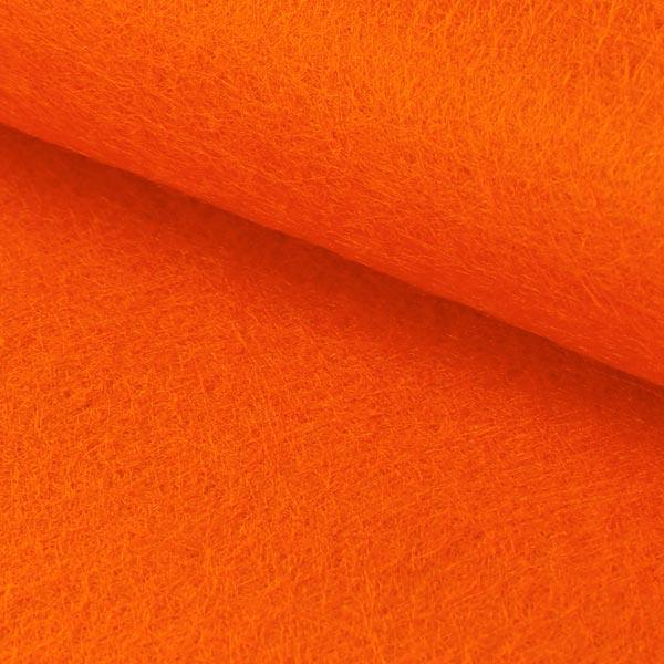 Plaque de feutre 1mm, 20 x 30 cm – rouge-orange