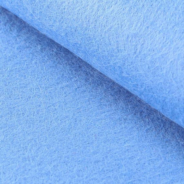 Filzplatte 1mm, 20 x 30 cm – hellblau