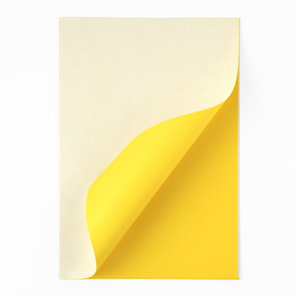 Kopierpapier, gelb