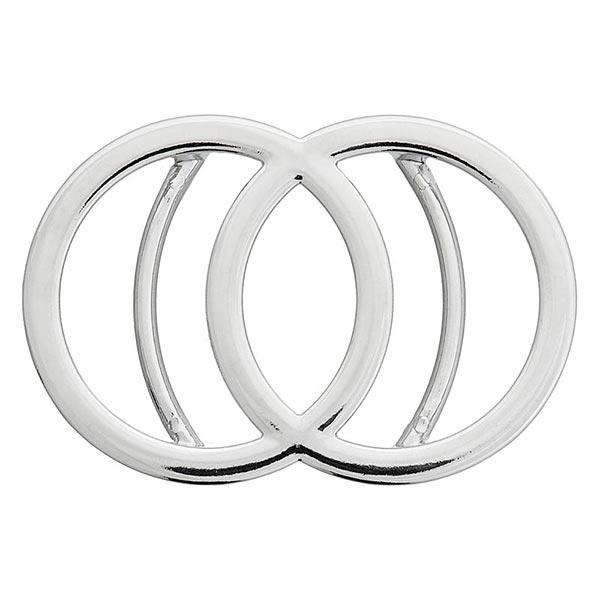 Metallschließe [ 35 mm ] – silber