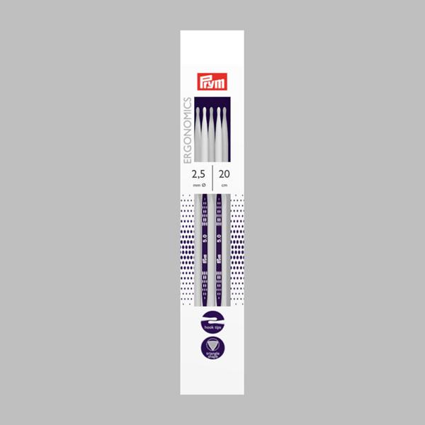 2,5 | 20 cm Strumpfstricknadel Ergonomics | Prym