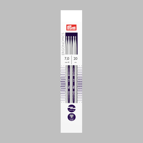 7,0   20 cm Strumpfstricknadel Ergonomics   Prym