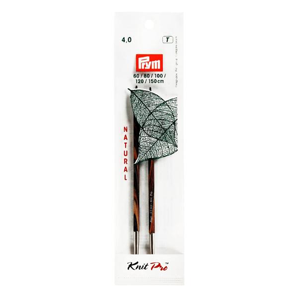4,0 | 12,8 cm Rundstricknadelspitzen, lang | Prym
