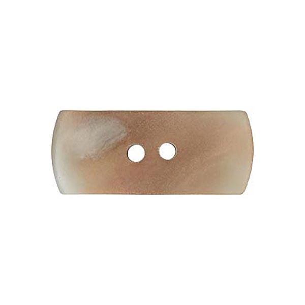 Bouton à bascule 2 trous [ Ø18 mm ] – beige