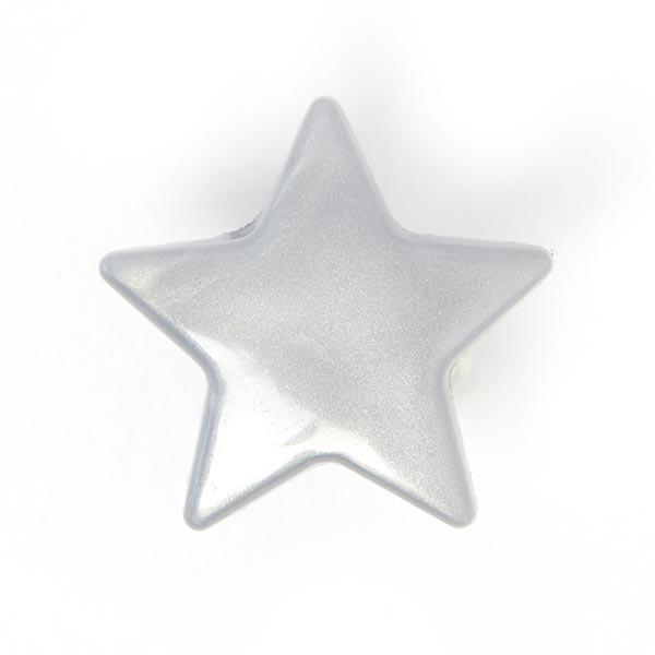 Boutons-pression Color Snaps étoile 5 - gris argenté| Prym