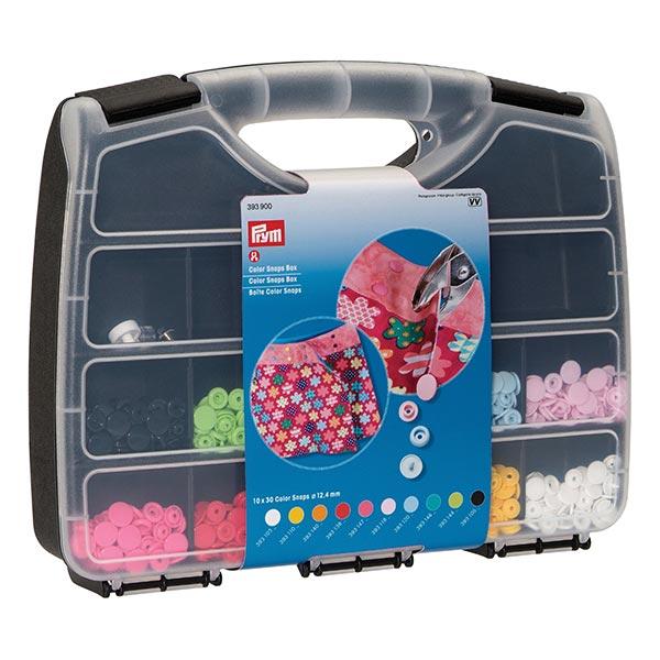 Boîte Color Snaps [300 pièces] + kit outils | Prym