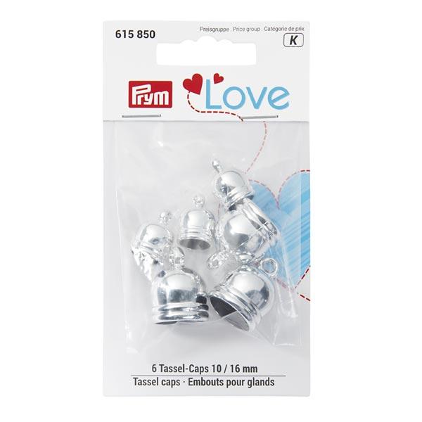 Embout pompon | Prym Love – argent