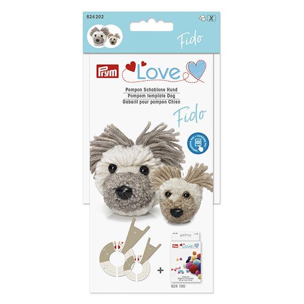Pompon Schablone Hund Fido | Prym Love