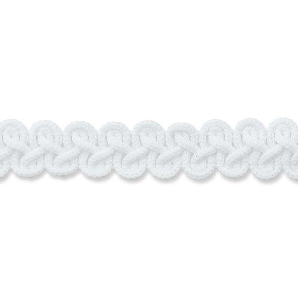 Galon de passementerie [ 12 mm ] – blanc