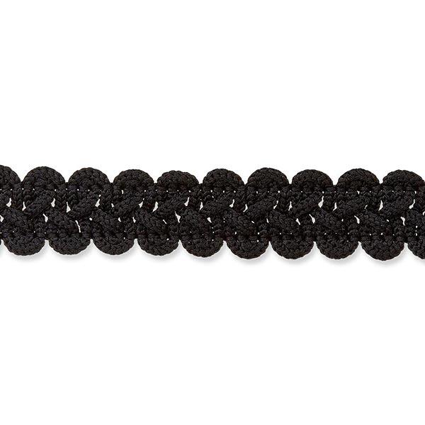 Posamentenborte [ 12 mm ] – schwarz