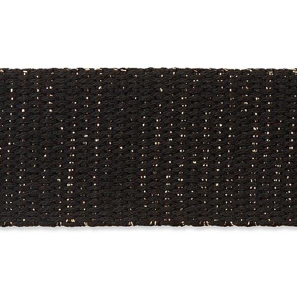 Sangle de sac [ 30 mm ] – noir/or