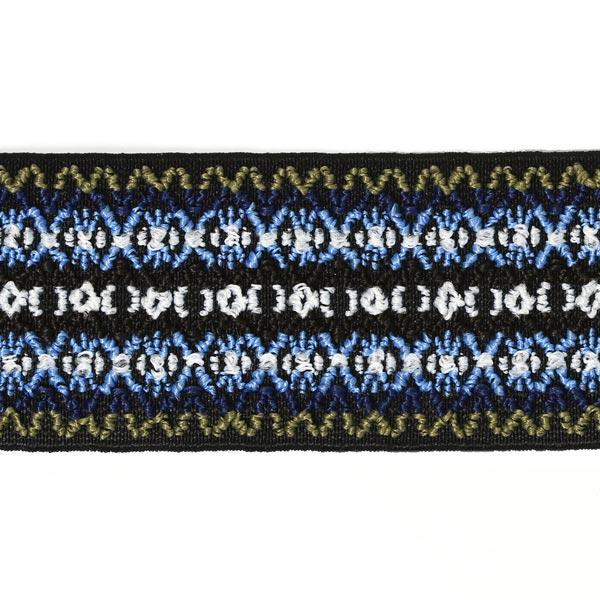 Élastique de couleur - bleu | Prym