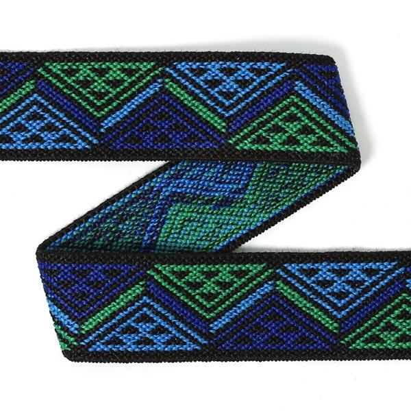 Élastique de couleur Triangle - bleu | Prym