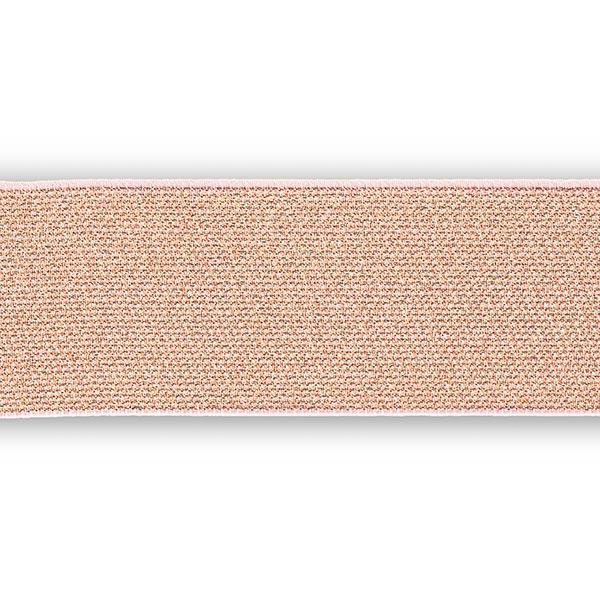 Ruban élastique Color Elastic [50 mm] - or rose | Prym