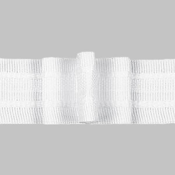 Faltenband 3x, 26 mm – weiss | Gerster