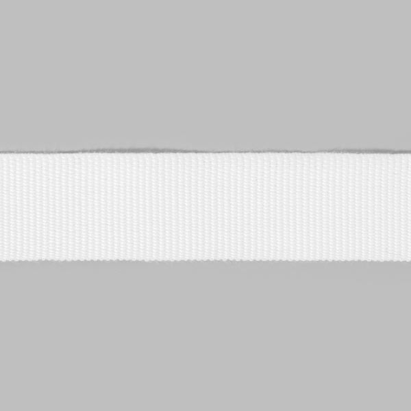 Ruban de reps, 26 mm – blanc | Gerster