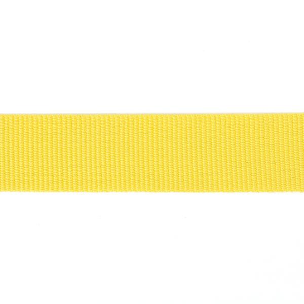 Ruban de reps, 26 mm – jaune | Gerster