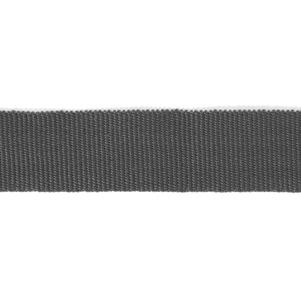 Ruban de reps, 26 mm – anthracite | Gerster