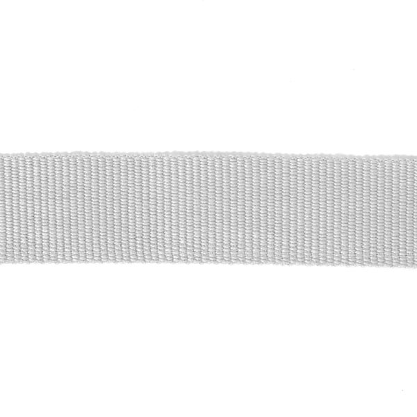 Ripsband, 26 mm – grau | Gerster